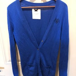 Gilly Hicks Royal Blue cardigan